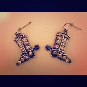 Jewelry - Studded Cowboy Boot Earrings